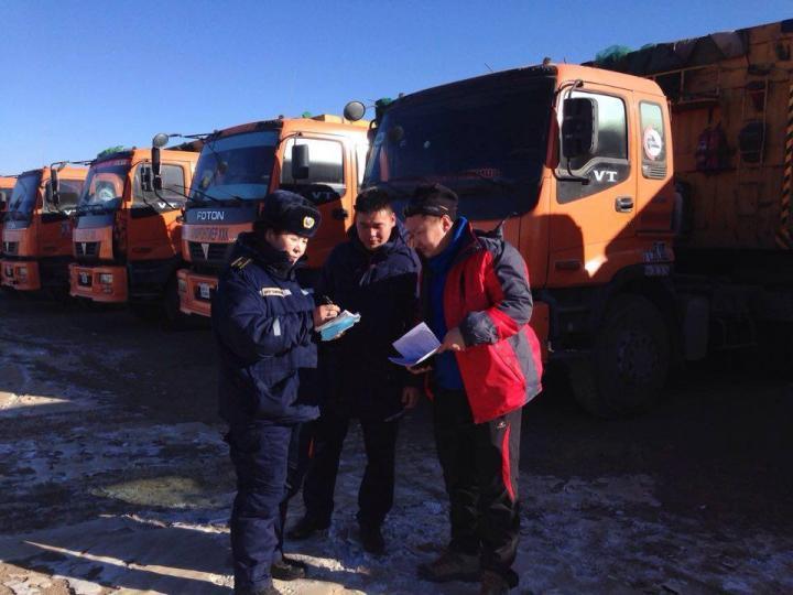 Гашуунсухайт–Ганц модны хилийн боомтод тээвэр төлөвлөлтийг хэрэгжүүлж байна