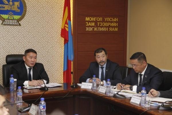 Х.Баттулга: Монгол ажилчид, инженерүүд дэд бүтцийн салбарт манлайлах учиртай