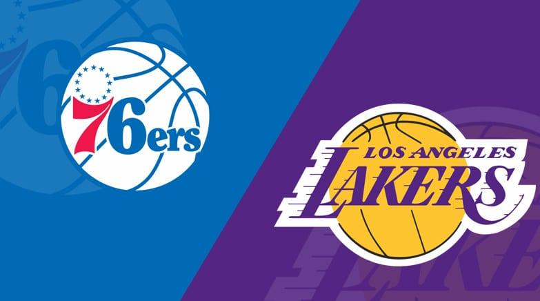 ШУУД: Philadelphia 76ers  vs  Los Angeles Lakers