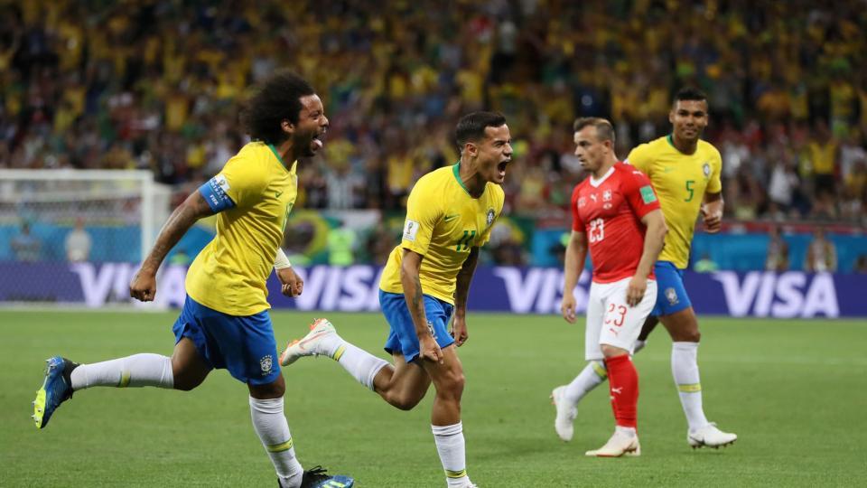 Бразил тэнцэж, оноо хуваалаа
