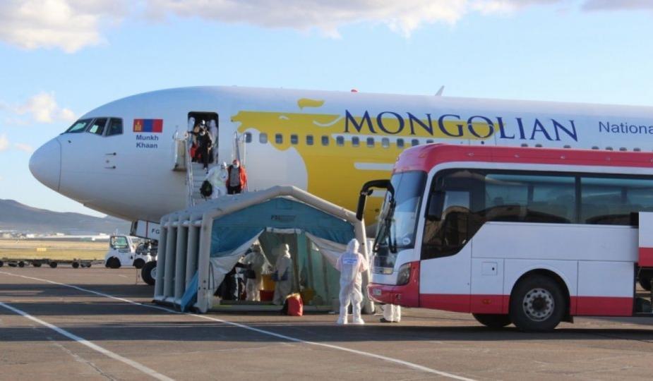 Сөүл-Улаанбаатар чиглэлийн транзит нислэгээр 252 иргэн эх орондоо ирлээ