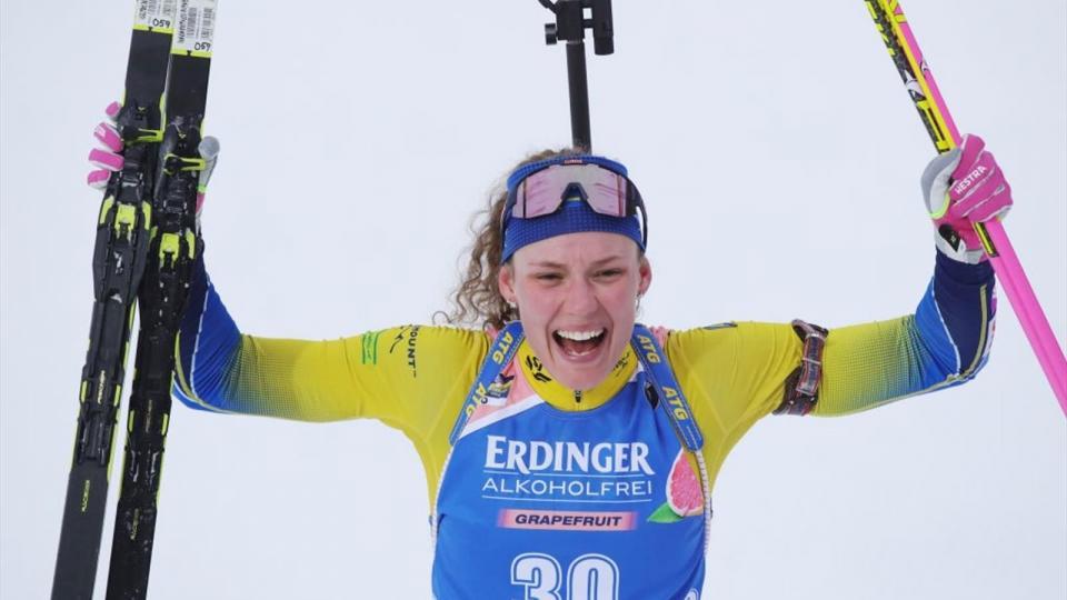 Шведийн Ханна Эберг олимп, дэлхийн аварга боллоо