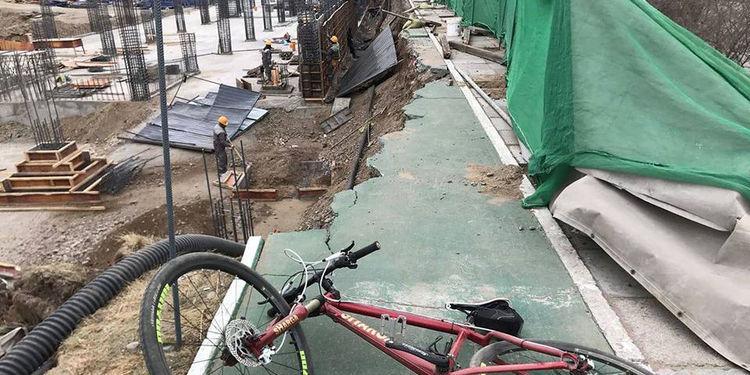 """Дугуйн зам сүйтгэсэн """"Suruga development"""" ХХК энэ сарын 28-ны дотор хэвийн болгоно гэжээ"""