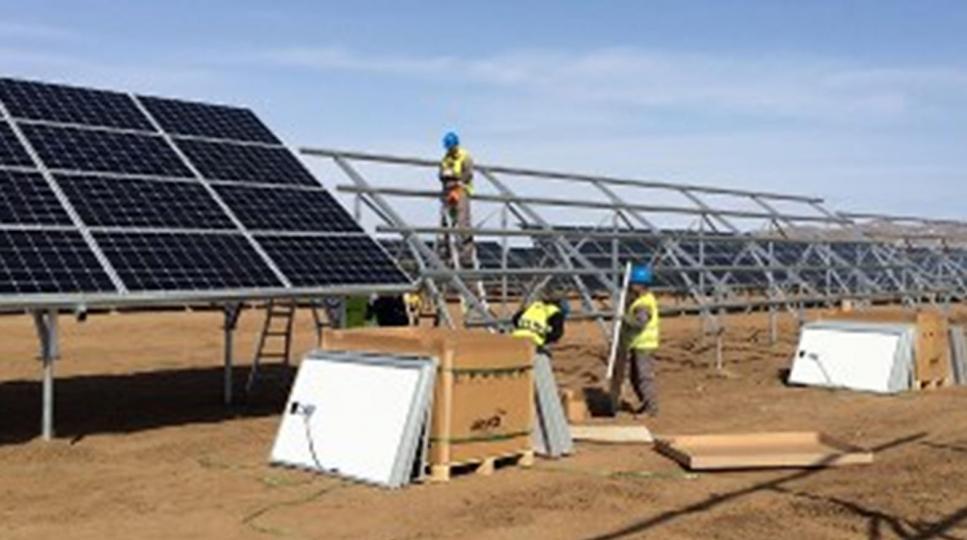 Нарны эрчим хүчний төсөлд 1.3 тэрбум иений хөрөнгө оруулна