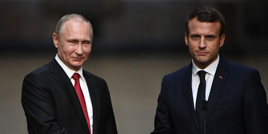 В.Путин Францын залуу төрийн тэргүүнтэй уулзлаа