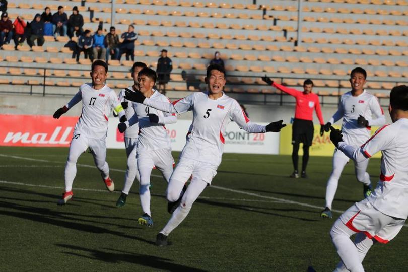 БНАСАУ-ын баг Монголын залуучуудын шигшээ багийг 1:0-ээр хожлоо