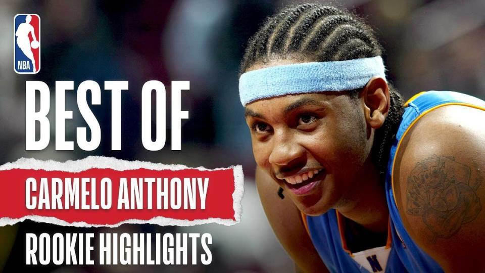 Кармело Энтони NBA-д орсон анхны жилийн тойм бичлэг