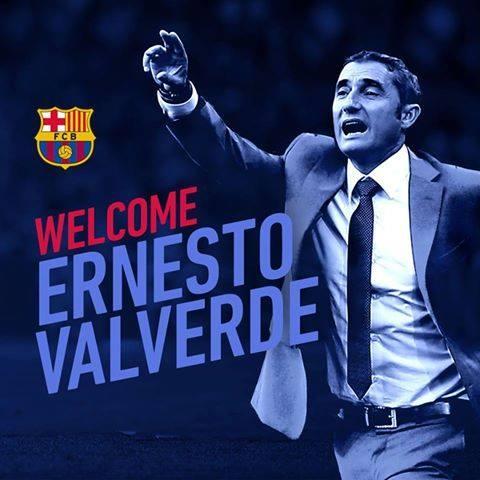 """Вальверде """"Барселона""""-г   удирдахаар боллоо"""