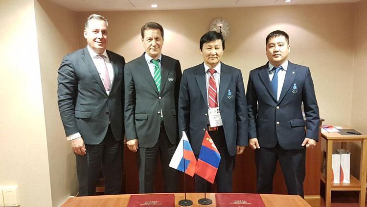 Монгол, ОХУ-ын Үндэсний олимпийн хороод хамтрахаар боллоо