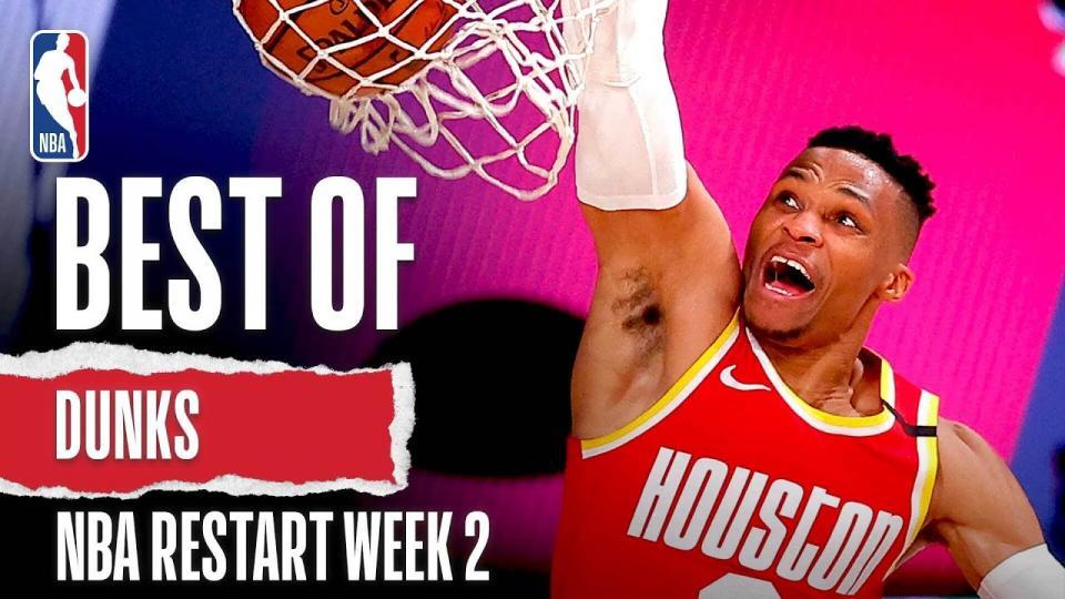 NBA дахин эхэлсэн 2 дахь долоо хоногийн шилдэг тохолтын бичлэг