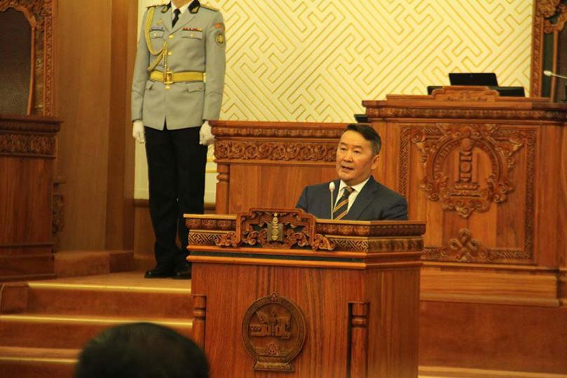 Шинэ парламентад хаягласан төрийн тэргүүний онцлох эшлэлүүд