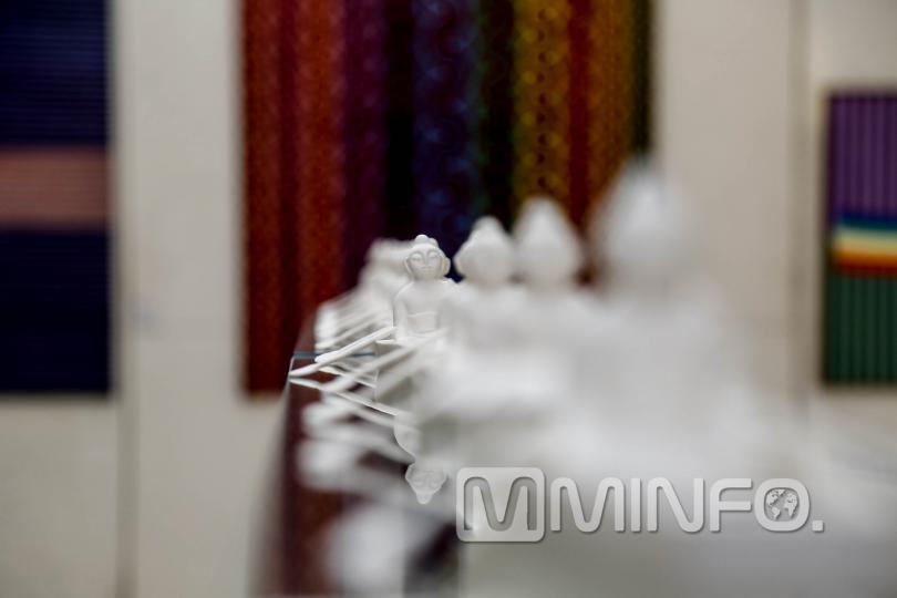 Зураач Х.Содномцэрэн, керамикч У.Одмаа нарын хамтарсан үзэсгэлэнгээс /ФОТО/