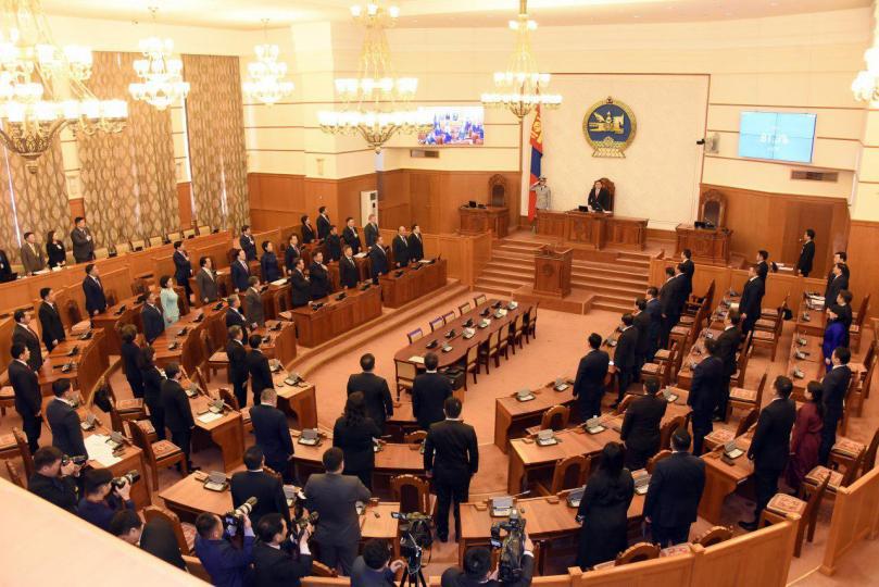 Улсын Их Хурлын сонгуулийн тухай хуулийн төслийг өргөн барилаа