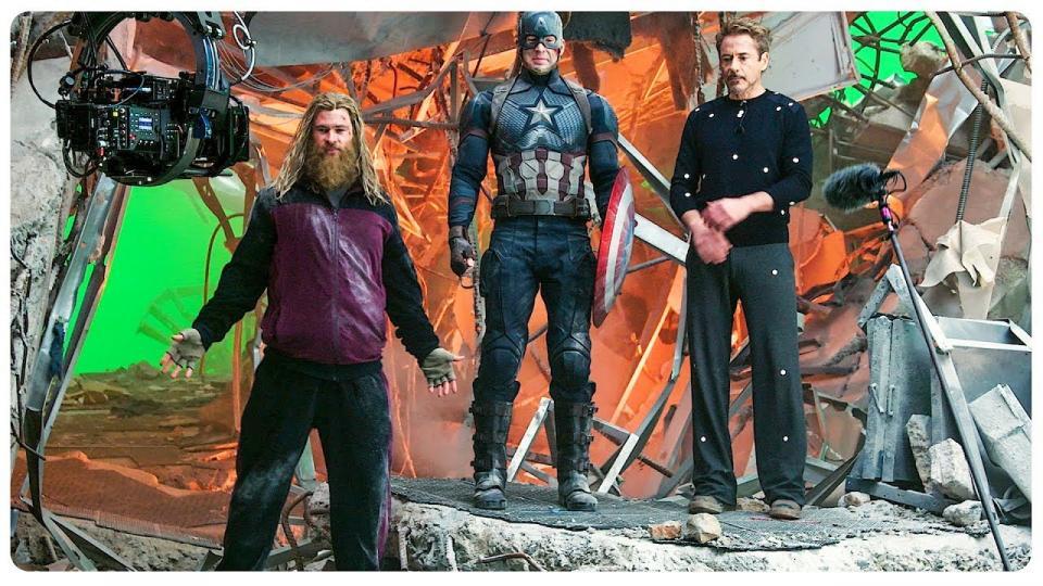 Avengers Endgame хөгжилтэй бичлэгээс