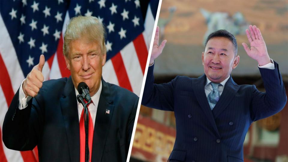 Монгол Улсын Ерөнхийлөгч Х.Баттулгад АНУ-ын Ерөнхийлөгч Доналд Трампаас хариу захидал ирлээ