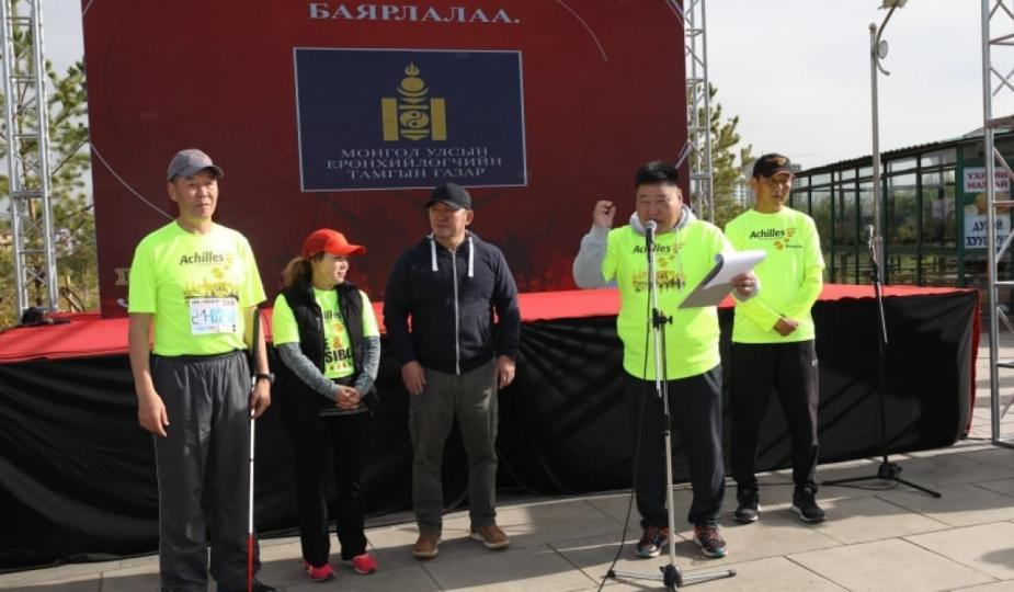 """Х.Баттулга """"Итгэл найдвар, боломж–Улаанбаатар 2019"""" марафоны нээлтэд оролцлоо"""