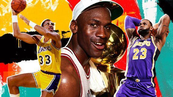 NBA-ын Бүх цаг үеийн шилдэг 10-ыг ESPN-ийнхэн нэрлэжээ