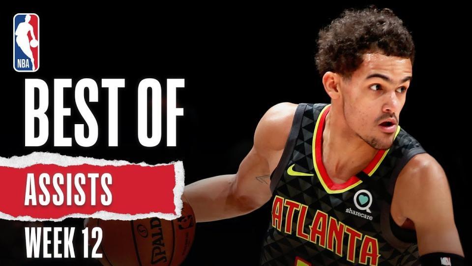 NBA-гийн 12 дахь долоо хоногийн шилдэг дамжуулалтын бичлэг