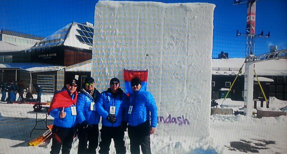 Олон улсын цасан сийлбэрийн тэмцээнд манай улс тэргүүлжээ