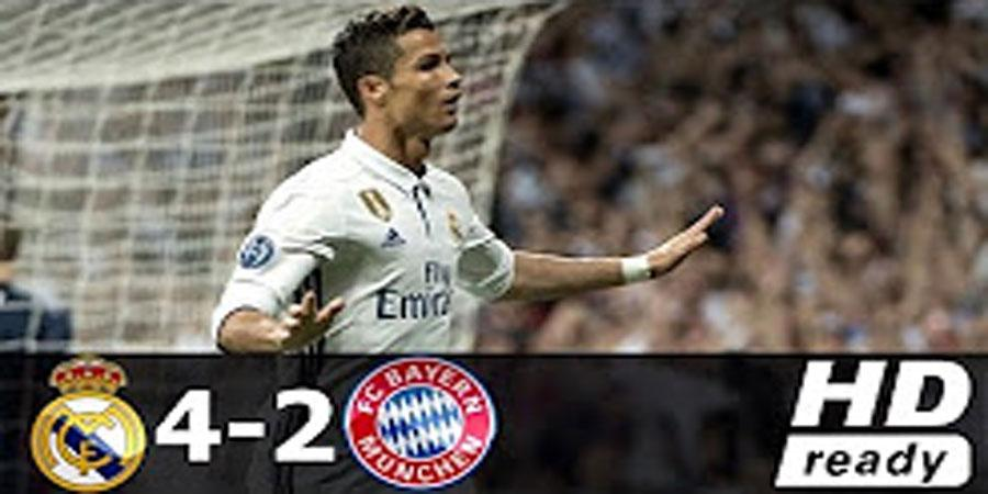 Real Madrid vs Bayern Munich 4-2