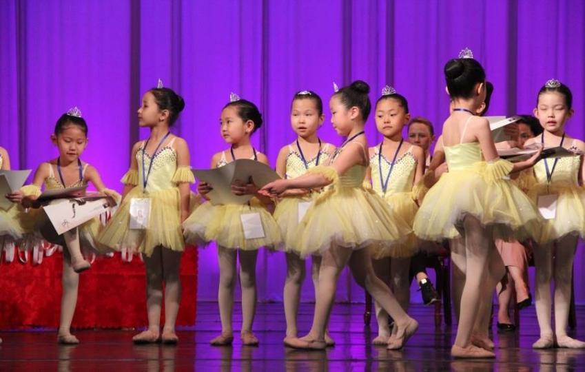Бяцхан шилдэг балетчид тодров
