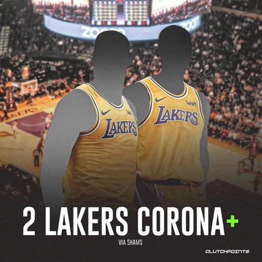 Лос Анжелес Лейкэрс багаас хоёр тоглогчийн коронавирусийн хариу эерэг гарчээ