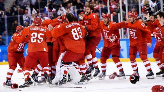 ОХУ-ын хоккейчид 30 жилийн дараа Олимпын алтан медаль хүртлээ
