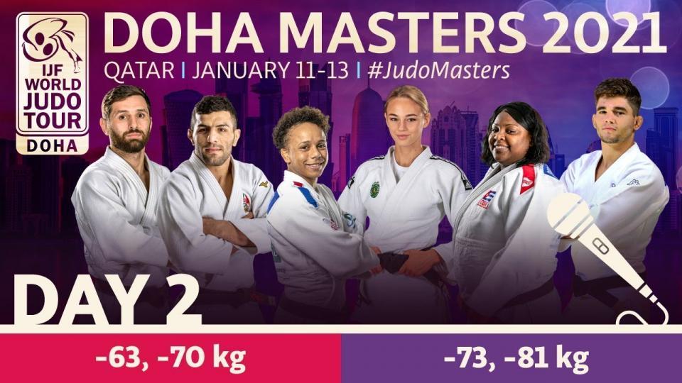 """""""Доха Мастерс 2021"""" тэмцээний хоёр дахь өдөр манай улсаас 5 бөх барилдана"""