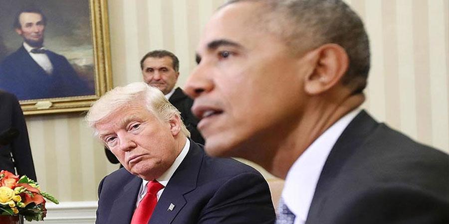 Б.Обама Д.Трампыг тагнаж байсан уу