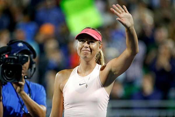Мария Шарапова газрын теннисний спортоос зодог тайлж байгаагаа зарлалаа