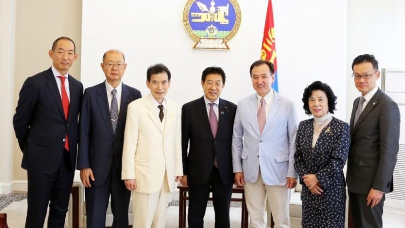 Япон улсын Парламентын төлөөлөгчдийг хүлээн авч уулзлаа