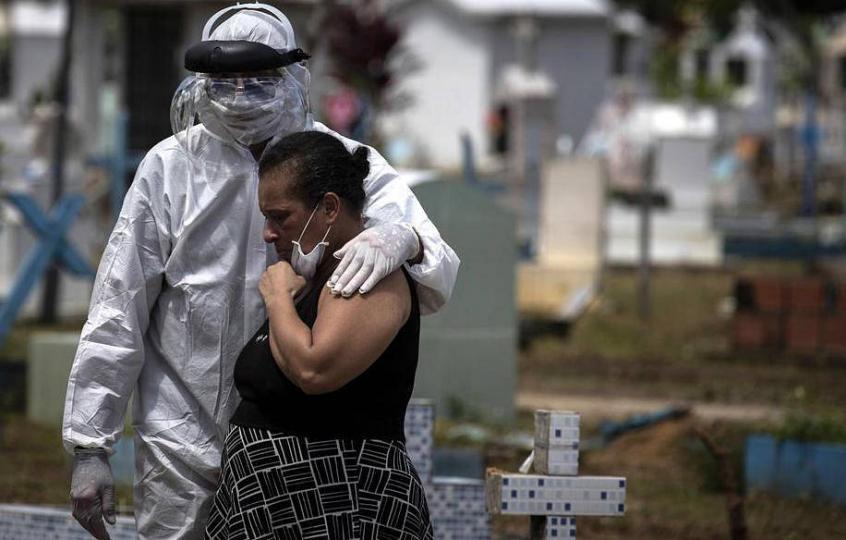 Бразил нэг өдөрт 30 мянган тохиолдол бүртгэгдлээ