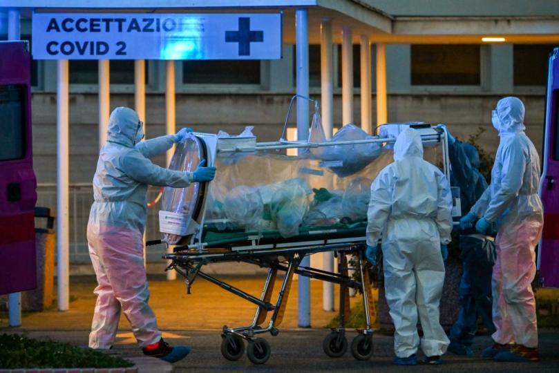 Италид нийт 3405 хүн нас бараад байна