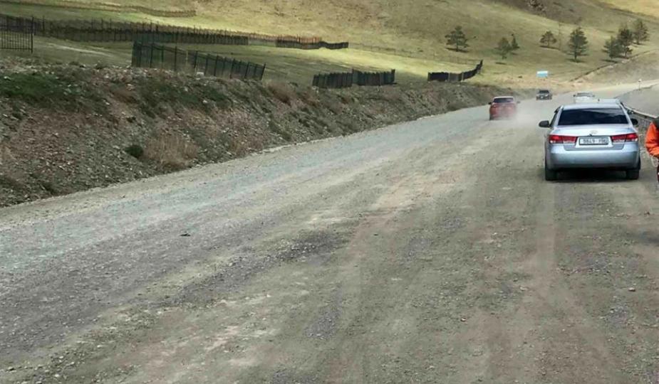 Гүнтийн давааны 2,1 км авто замыг тэгшилжээ