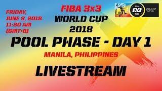 FIBA 3x3 Дэлхийн аварга шалгаруулах тэмцээн эхний өдрийн тоглолтууд |Шууд|