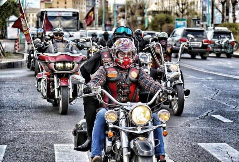 """""""Баярлалаа"""" нэртэй талархлын мотоциклын цуваа Сүхбаатарын талбайгаас хөдөлнө"""
