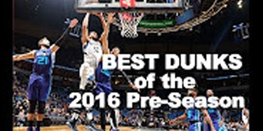 NBA-2016 улирлын өмнөх тоглолтын шилдэг 10 тохолт