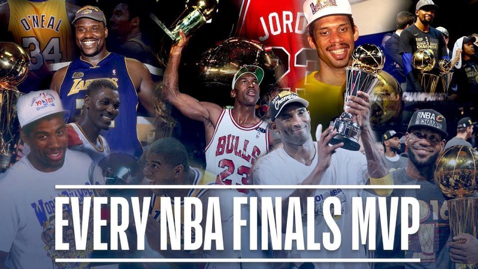 NBA-ын түүхэнд финалын MVP хүртсэн тоглогчдын бичлэг