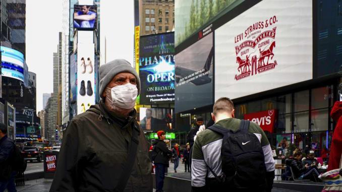 АНУ-ад нэг өдөрт 10796 халдвар шинээр илэрлээ
