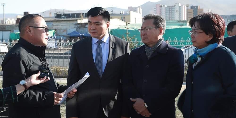 Хотын захирагч С.Амарсайхан АТГ-ын эзэмшилд байсан талбайг нийтийн эзэмшилд шилжүүлж, ногоон байгууламж болгохоор боллоо