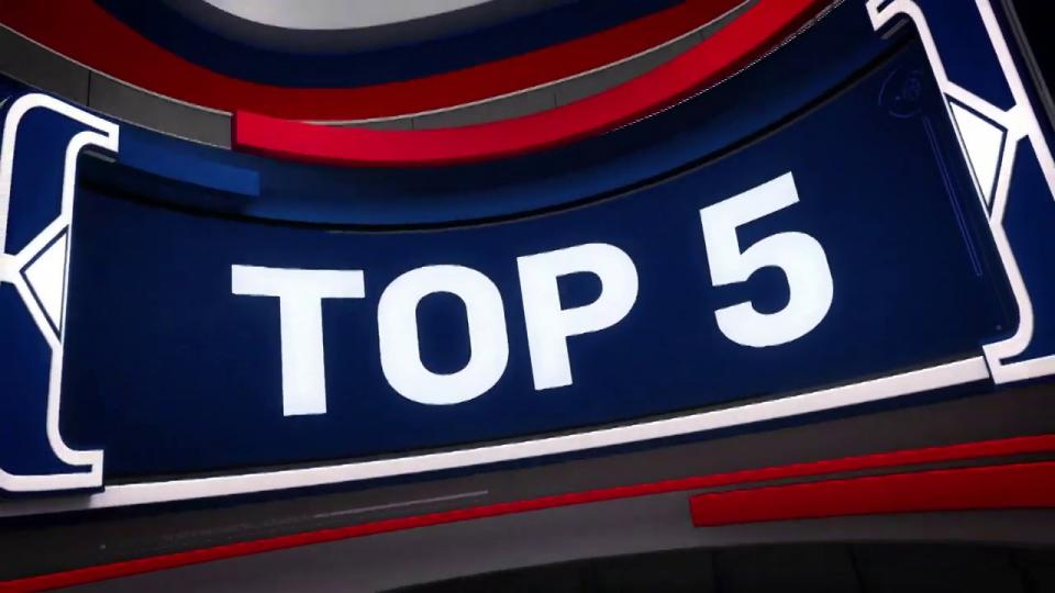 NBA-ын өнөөдрийн шилдэг 5 үзүүлбэр (19-11-01)