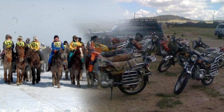 Монгол хүн мориноосоо буух цаг айсуй