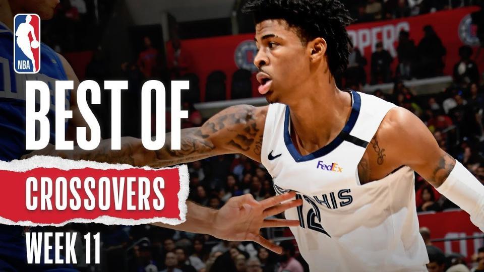 NBA-ын 11 дэх долоо хоногийн шилдэг шагай мултлалт