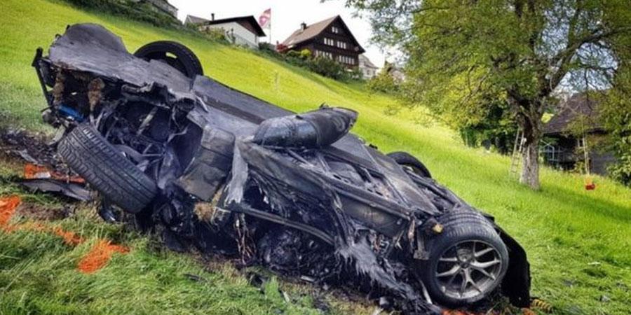 Ричард Хаммонд авто осолд оржээ