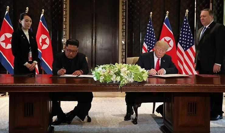 Трамп, Кимийн уулзалт шинэ түүхийн эхлэл болж байна
