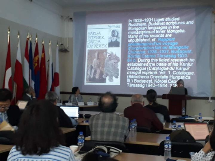Олон улсын Монгол судлаачид чуулж байна