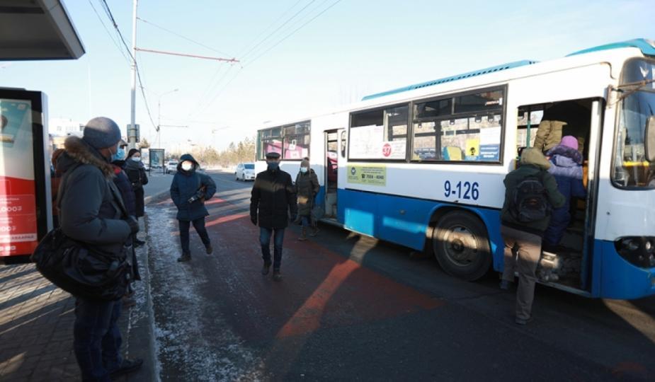 Өчигдөр нийтийн тээврээр 113908 хүн зорчжээ