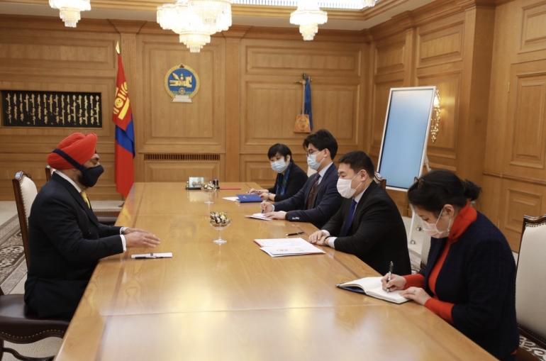 Монгол Улсын засгийн газраас Энэтхэг улсад нэг сая ам.долларын хүмүүнлэгийн тусламж үзүүлнэ