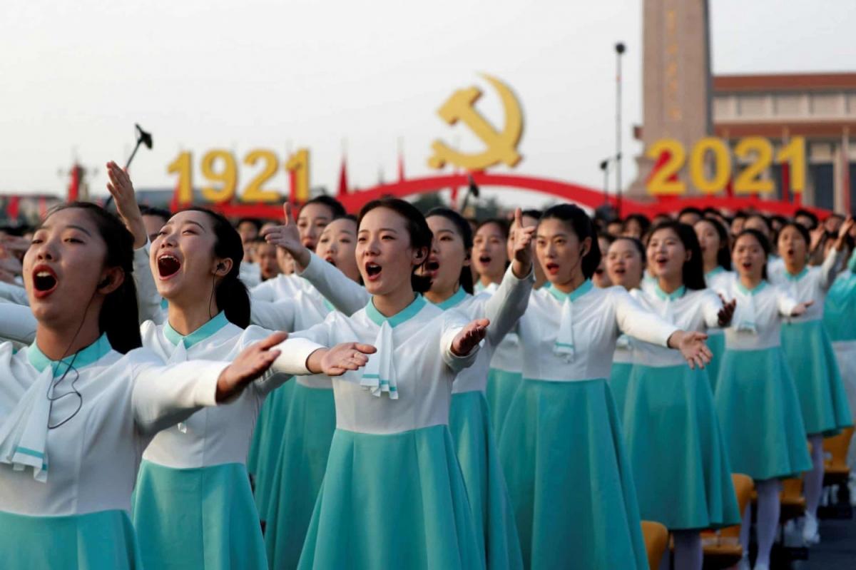 ФОТО МЭДЭЭ: Хятад улс Коммунист намын 100 жилийн ойн баяраа нүсэр тэмдэглэлээ
