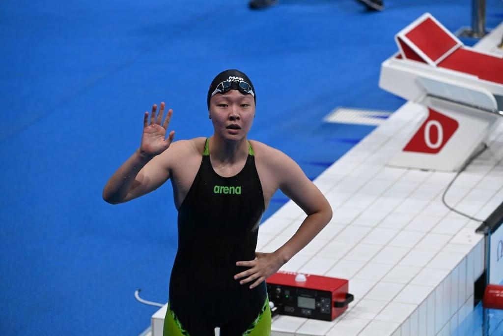 Б.Энххүслэн олимпийн усан замд Улсын рекорд шинэчлэн тогтоолоо